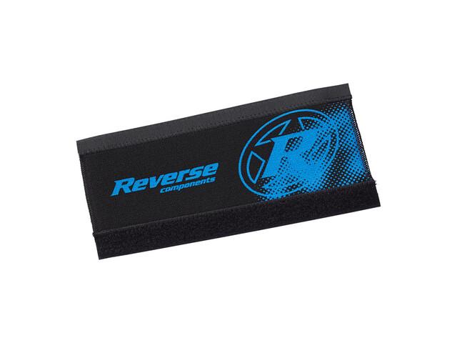 Reverse Neopren Kettenstrebenschutz schwarz/dunkelblau